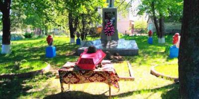 Под Кременчугом в День Победы перезахоронили останки советских воинов