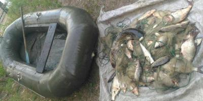 Рибалка незаконно здобув понад 33 кг риби різних видів.