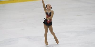 В Кременчуге на льду расцвели «Украинские мальвы»