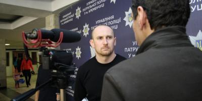 Начальник Управления патрульной полиции Нацполиции Украины Евгений Жуков рассказал о перспективах дорожно-патрульной полиции в Кременчуге