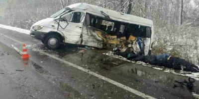 Полиция Харьковской области в смертельном ДТП с участием маршрутки вину возлагает на кременчугского водителя