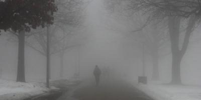 На дорогах Полтавщины плохая видимость – туман