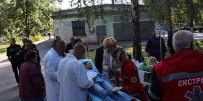 У Кременчуцькій Центральній районній лікарні відпрацювали надзвичайну ситуацію
