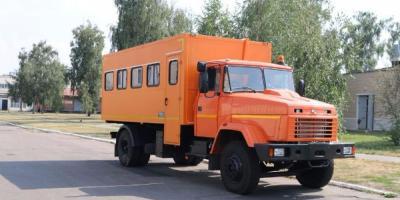 КрАЗ для ГОКов создал комфортные спецавтомобили-вахтовки
