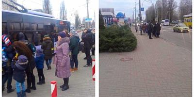 Кінець робочого тижня, а в Кременчуці знов «транспортний колапс»