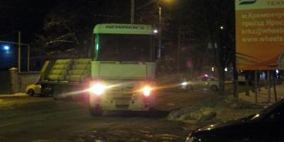 С утра из-за ДТП в Кременчуге вовремя не выехали троллейбусы