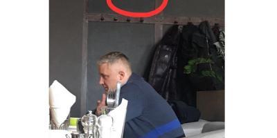 «Розпиває чаї!» - першого віце-мера Володимира Пелипенка застали у місцевій кав'ярні у розпал робочого дня