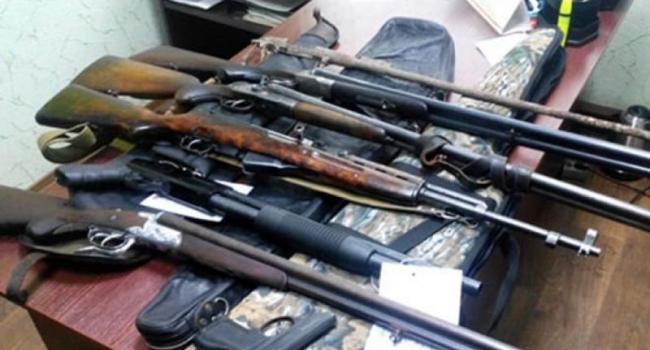 В Кременчуге «собирают» оружие