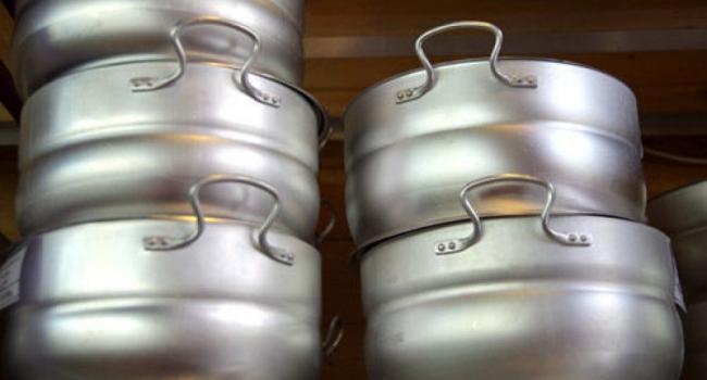 В Кременчуге вор «позарился» на алюминиевые кастрюли и тазики