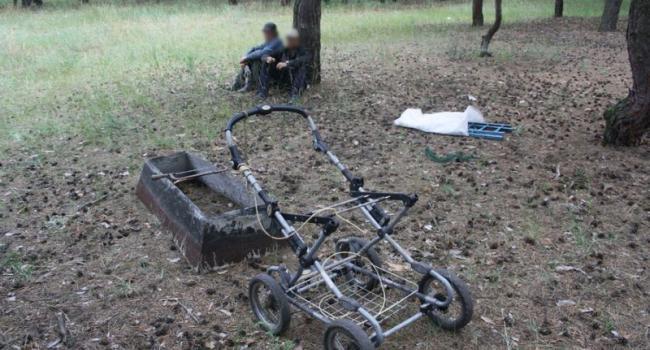 В Кременчуге задержали очередных кладбищенских вандалов