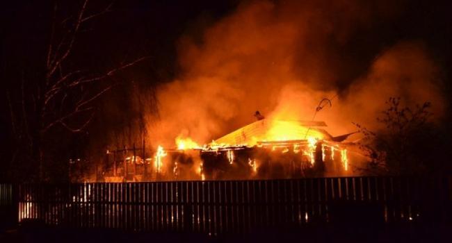 В Кременчуге горел частный дом