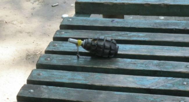 Обнаруженная на Раковке граната оказалось муляжом