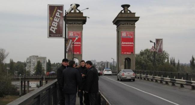 Начальник Укравтодора «прочувствовал» Крюковский мост