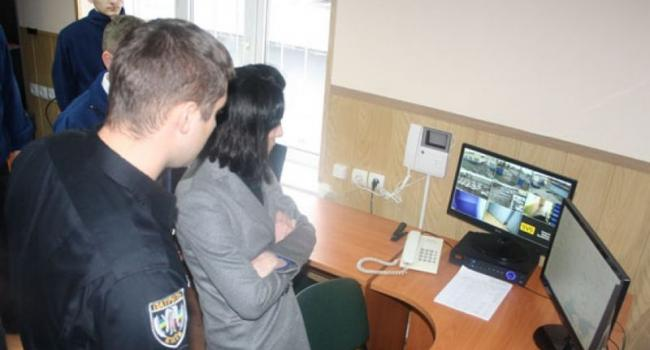 Как Деканоидзе вместе с Бехом посетили офис патрульной полиции Кременчуга