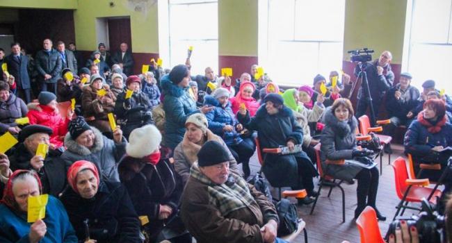 Общественность Бондарей дала добро на строительство БГОКа