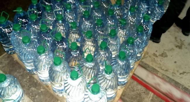 На Полтавщине ликвидировали подпольный ликеро-водочный завод