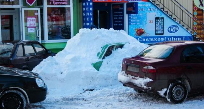 Оставленные в снегу авто - приманка для воров