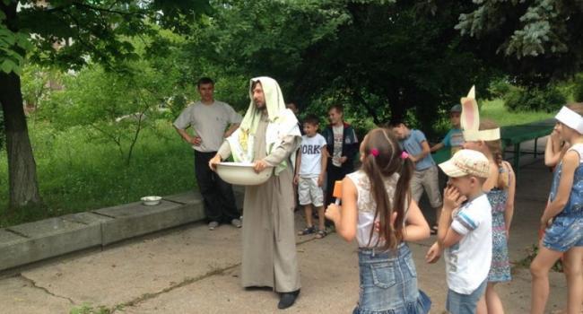 В Кременчуге заработал детский лагерь для воспитанников Воскресной школы