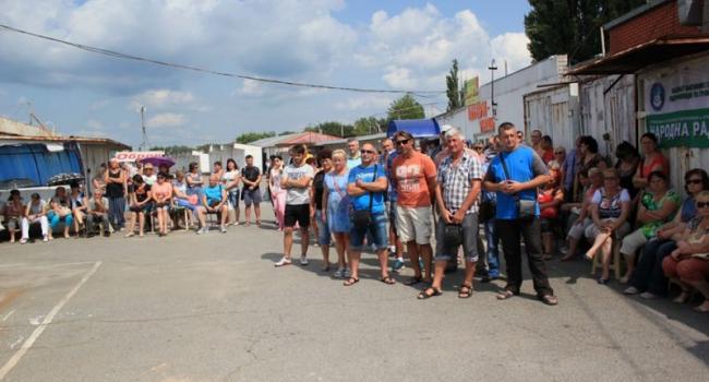 Киевские активисты стали на сторону предпринимателей Кременчуга