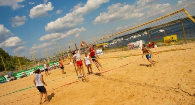 Под Кременчугом пройдет чемпионат Украины по пляжному волейболу