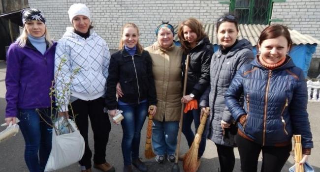 Работники Кременчугской колонии присоединились к двухмесячнику чистоты