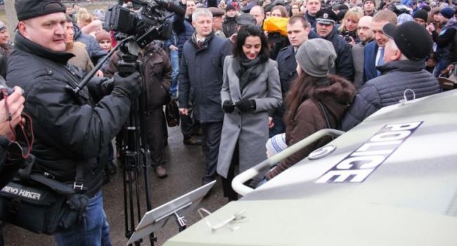 Руководитель Национальной полиции Украины Деканоидзе о КрАЗах: «Красавцы!»