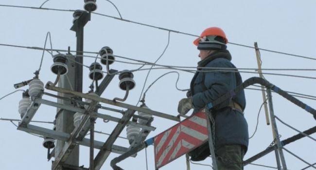 В районе улицы Киевской произошла авария на электросетях