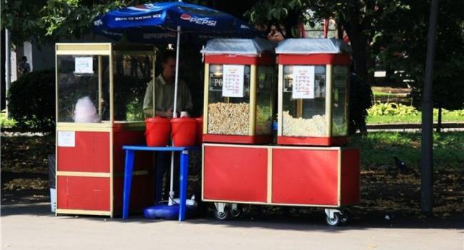 В Приднепровском парке появится сладкая вата, попкорн и еще одна автокофейня