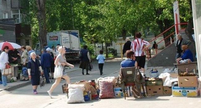 В Кременчуге стихийная торговля «уходит во дворы»