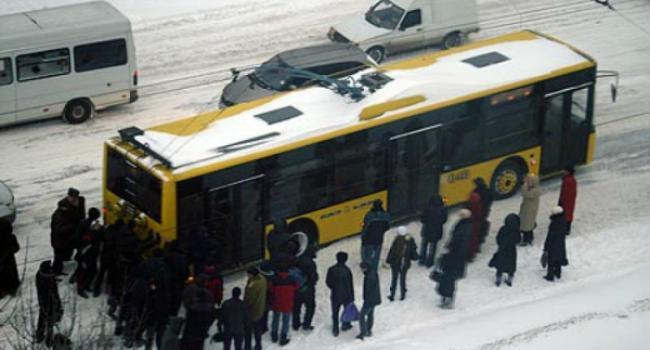 В Кременчуге снова встали троллейбусы