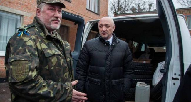 Полтавская ОГА отправила в зону АТО запчасти для 8-й отдельной автомобильной санитарной роты.