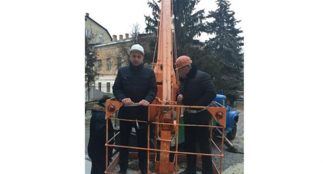 Малецкий и Кравченко с утра поработали «карлсонами»
