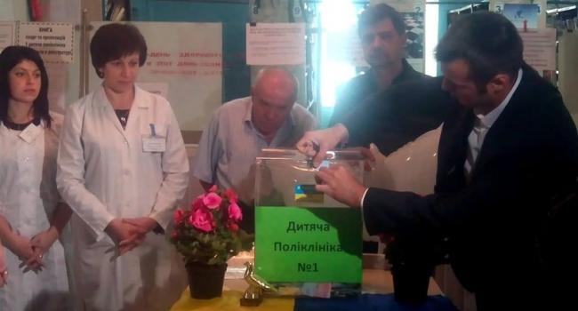 Голубеводы собрали детской поликлинике средства на оборудование