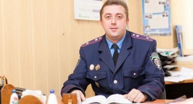 Первый замначальника милиции Кременчуга переходит на работу в Полтаву