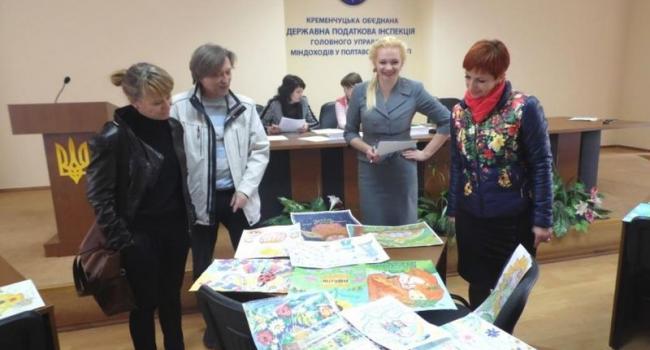 Кременчугская налоговая определила победителей конкурса детского творчества