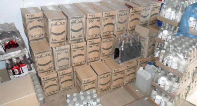 На Полтавщине перекрыли канал поставки некачественного алкоголя
