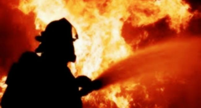 В Кременчуге горела гостиница «Днепровские зори»