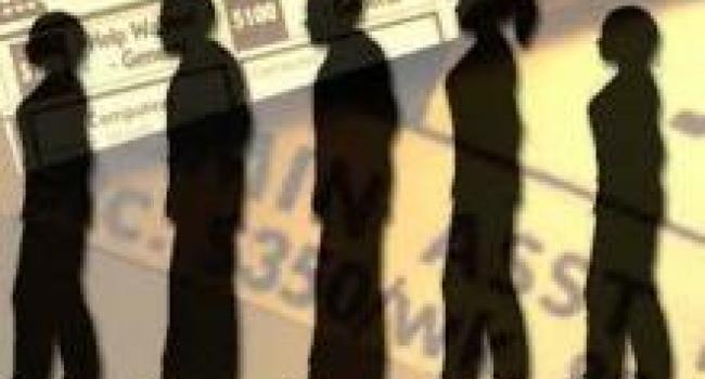 Количество безработных в Кременчуге за год выросло на 100%