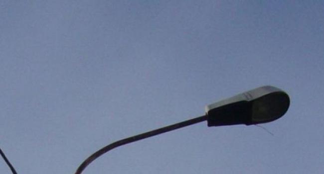На ул. Киевской автомобиль сбил электроопору