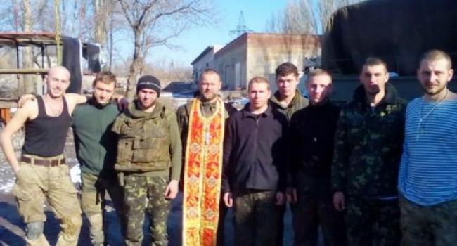 Кременчугские священники поддерживают бойцов АТО
