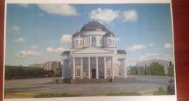Как впишется в общую архитектуру Успенский собор на площади Победы