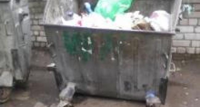 Один контейнер, как состояние дел с комунхозом в городе