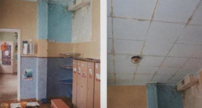 Детсад № 74: течет крыша, в группах грибок, рушатся стены-фото