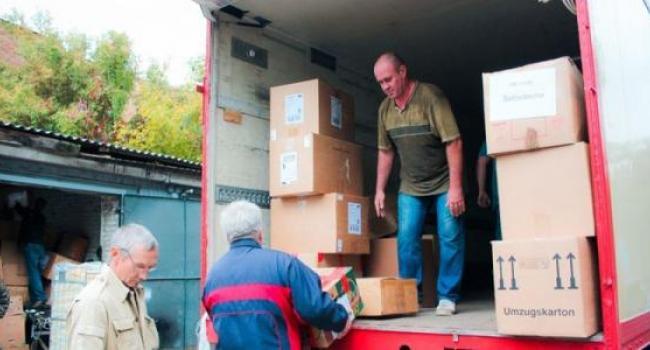 Кременчугский госпиталь ветеранов войны получил гуманитарку из Германии