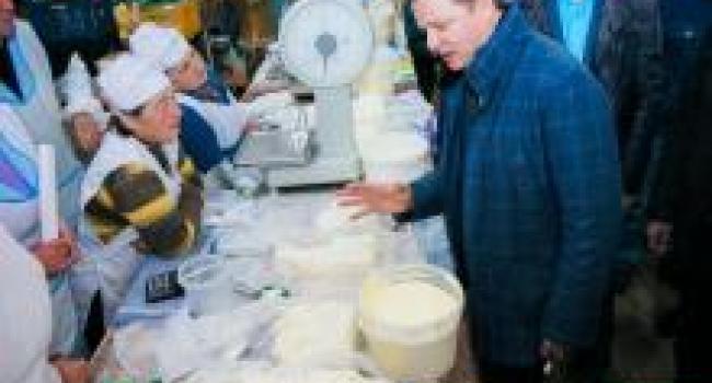 Олег Ляшко скупился на кременчугском рынке