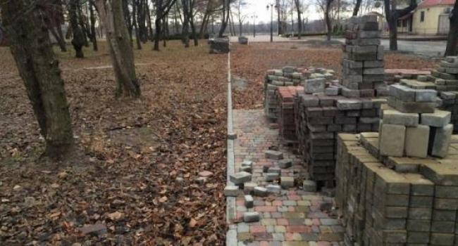 Галата вернется в Приднепровский парк переделать аллею