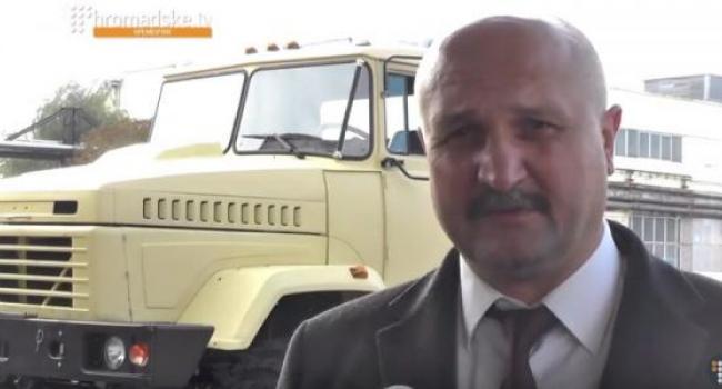 Глава облсовета Ворона «видит» начальником военного лицея Полякова
