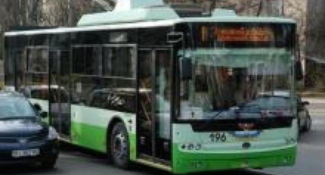 Обрыв линий для кременчугских троллейбусов – не помеха