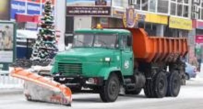 99% техники на дорогах по расчистке снега – это техника коммунальных предприятий