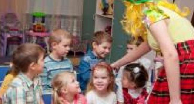 В детские сады Кременчуга запись ведется через интернет